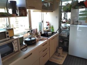 台北 3S Hostel & Dormitoryキッチン