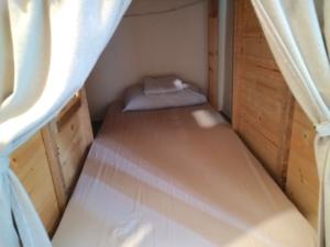 霊感青年旅舎というコスパ良ドミトリー【Yilan Inspiration Hostel】ベッド