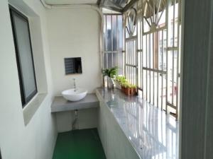 霊感青年旅舎というコスパ良ドミトリー【Yilan Inspiration Hostel】洗面台