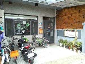 霊感青年旅舎というコスパ良ドミトリー【Yilan Inspiration Hostel】入口