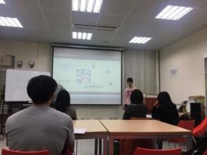 宜蘭大学 日本語教室を開いた際の写真