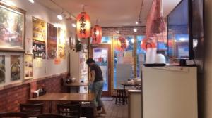 台湾阿Q麺館 店内の雰囲気