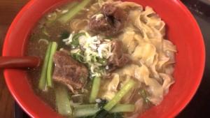 台湾阿Q麺館 牛肉麺