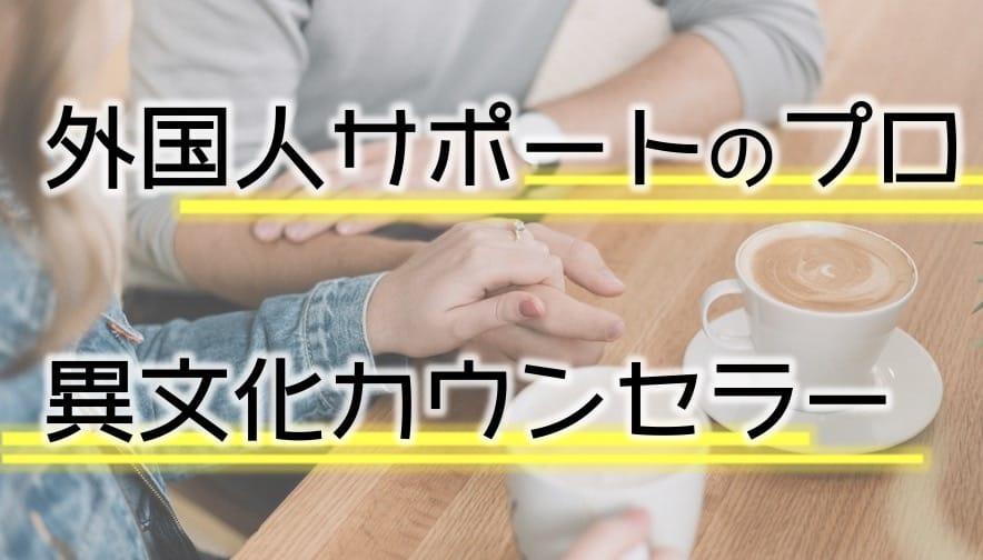 異文化カウンセラーの実用性|外国人とのコニュニケーションのプロに
